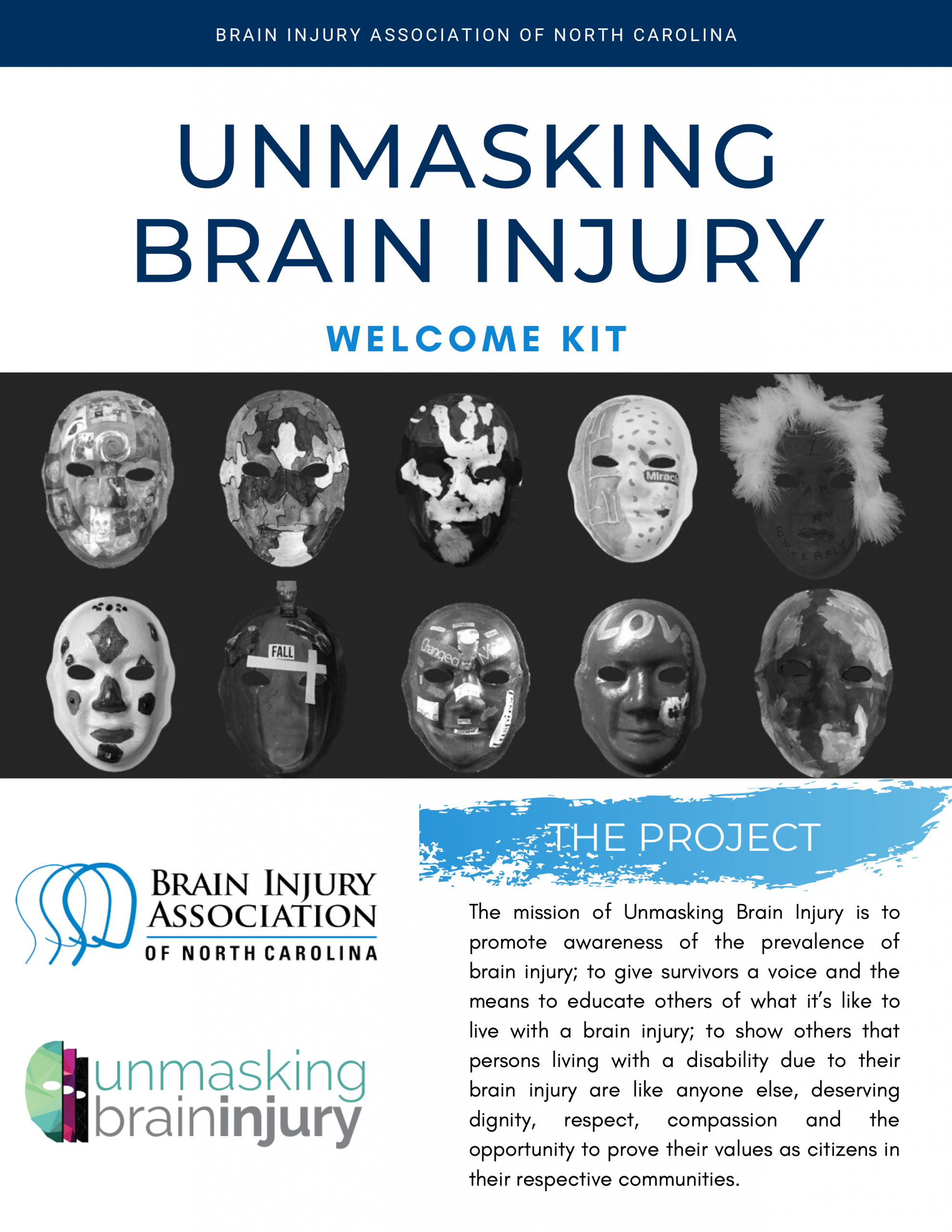 Unmasking Brain Injury Packet cover