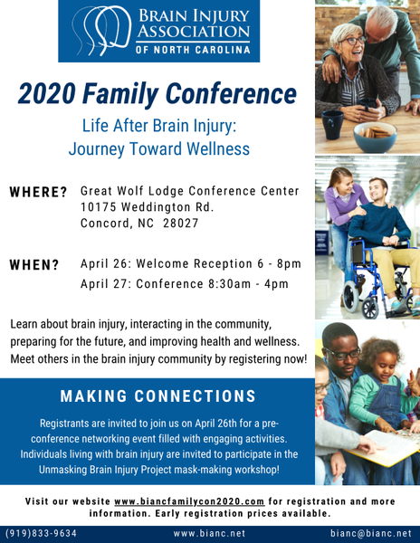 2020 Family Conference Flyer Final