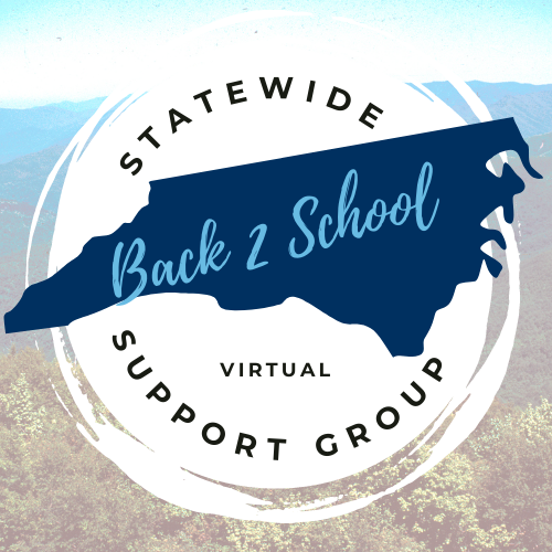 Back 2 School Weekly Support Group